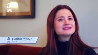 Bonny Wright - Бонни Райт, Bonnie Wright supports Peace One Day