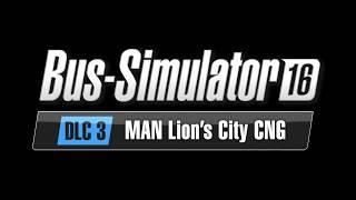 VideoImage1 Bus Simulator 16: MAN Lion´s City CNG Pack DLC 3