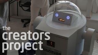 Omnibot-like Candy Dispensing Robot
