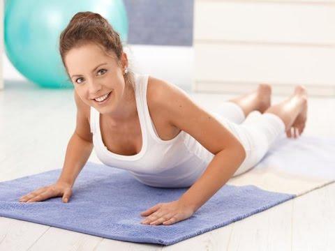 Упражнения после родов для похудения. Тренировка № 1