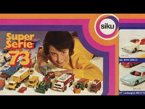 , title : 'Presentation of all Siku models produced in 1973 . Diecast car'