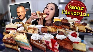 Every Flavor Cheesecake from CHEESECAKE FACTORY MUKBANG 먹방 | Eating Show