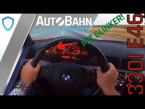 AutoBahn - BMW E46 330i (2003) - POV drive | 100-200 km/h | Top speed