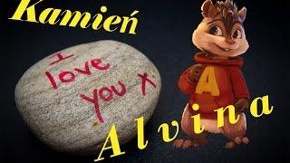 """""""Enej   Kamień Z Napisem LOVE""""   Alvin I Wiewiórki"""