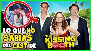Curiosidades del Cast de EL STAND DE LOS BESOS (The Kissing Booth)
