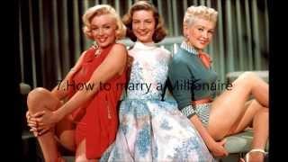 Top 10 Best Marilyn Monroe Movies