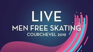 LIVE 🔴 | Men Free Skating | Courchevel 2019