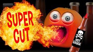 Annoying Orange - Hot Sauce Challenges! (Supercut)