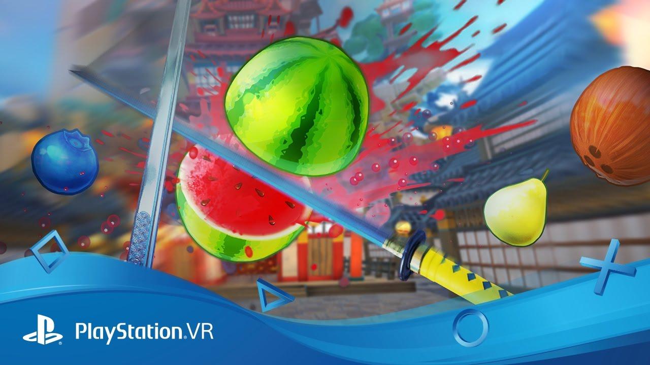 Fruit Ninja VR se coupe en quatre sur PlayStation VR aujourd'hui