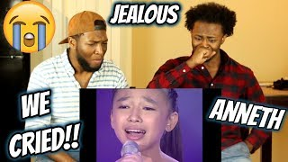 "Anneth: 13-Year-Old Sings ""Jealous"" by Labrinth (WE CRIED) REACTION"
