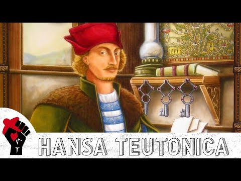 Hansa Teutonica Review - With Talking Board Games