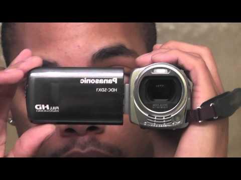 Panasonic HDC-SDX1 test