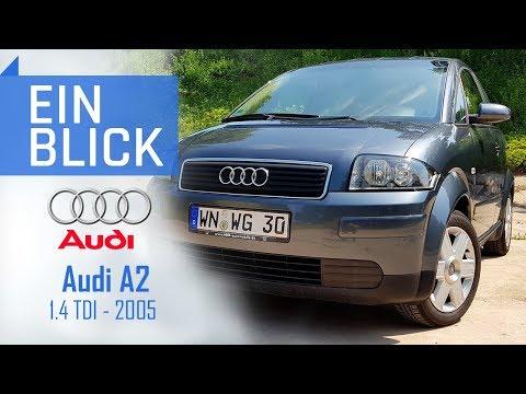 Audi A2 1.4TDI 2005 - Ein alltagstaugliches Sparwunder? Vorstellung, Test und Kaufberatung