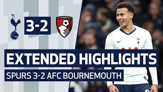EXTENDED HIGHLIGHTS | SPURS 3-2 AFC BOURNEMOUTH | Dele's double and Sissoko's first at new stadium!