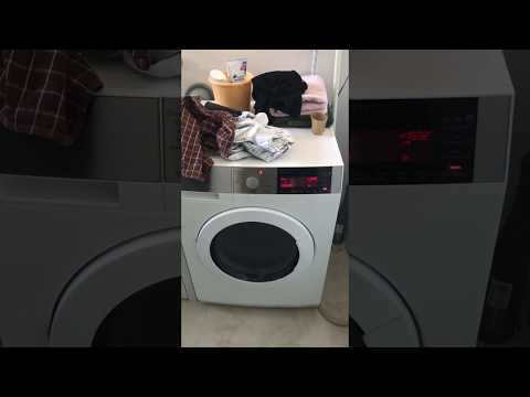 AEG Washing Machine L98690FL - loud noise during spinning