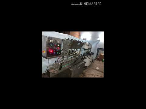 Glass Bottle Jar Filling and Capping Machine