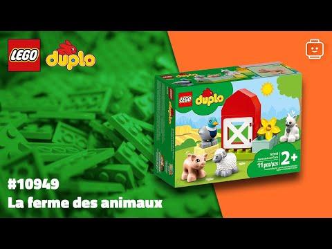 Vidéo LEGO Duplo 10949 : Les animaux de la ferme
