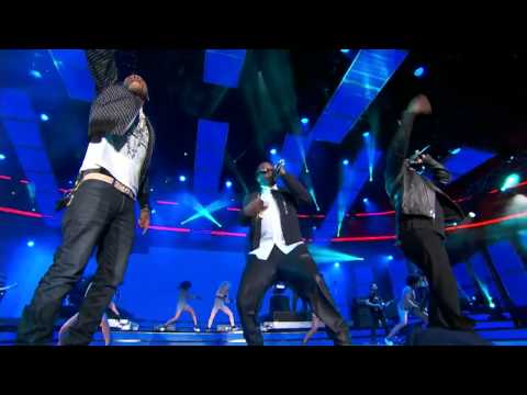 Performing with Pharrell at the 2014 NBA All Star game