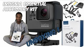 Insignia Essential Accessory Kit - Unboxing (Go Pro)