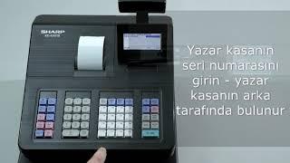 YENİ - Sharp -XE-A177X/207X/217X/307X yazar kasasının temel işletime alınması (Türkische Untertitel)