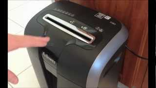 Fellowes 73Ci Shredder Review and Demo