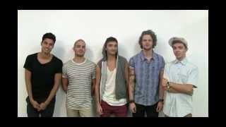 Натан Сайкс, Behind The Scenes on The Wanted's Girlfriend photoshoot..)