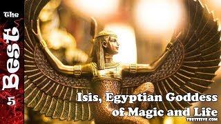 Isis, Egyptian Goddess of Magic and Life