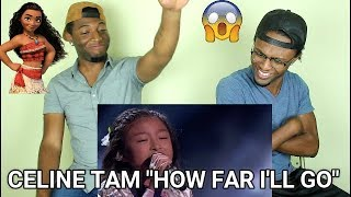 "Celine Tam: 9-Year-Old Stuns The Audience With ""How Far I'll Go"" - AGT 2017 (REACTION)"