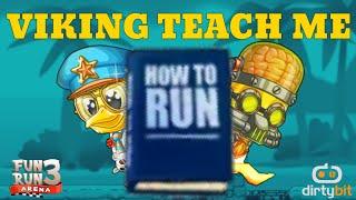 • Fun Run 3 Arena • Vıkıng Teaches me to Run ! ( Clan Battle )