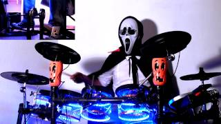 Jules Rockin - Halloween Special - Goosebumps Theme Song drum cover