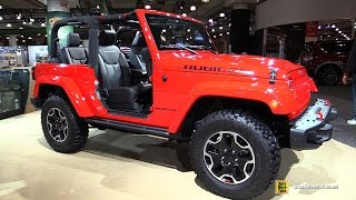 2016 Jeep Wrangler Rubicon Hard Rock - Exterior and Interior Walkaround - 2016 New York Auto Show