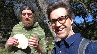 We Play Disc Golf With A Tortilla Frisbee