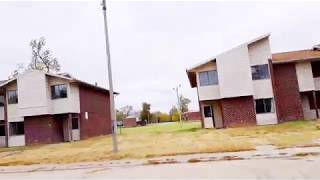 Abandoned Housing Projects in East St Louis Illinois
