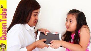 What If No WiFi Internet SKIT   ละครสั้น จะอยู่ได้มั้ย ถ้าไม่มีอินเตอร์เน็ท? 📵🔌น้องควีนโดนยึดไอแพด