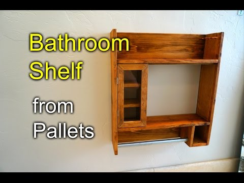 Bathroom Shaving Shelf from Pallet Wood – How to
