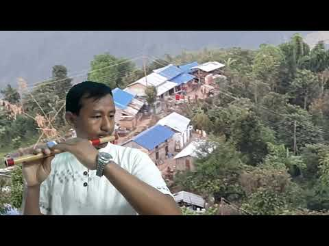 तिरिरी मुरली बज्यो बनैमाTiriri murali bajyo banaima live in concert (Flute cover by Bibek Rai)