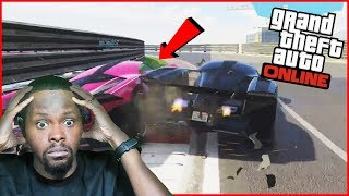 The GTA Race King Back! And So Are The Haters! - GTA 5 Online Races