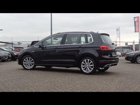 Volkswagen NEW Golf  Sportsvan 2018 Highline Deep Black Pearl walk around & Inside