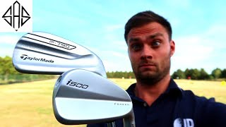 POWER TEST: PING I500 Vs TAYLORMADE P790 IRON REVIEW