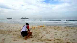 preview picture of video 'Gabriel Cardoso - Treinamento na Praia'