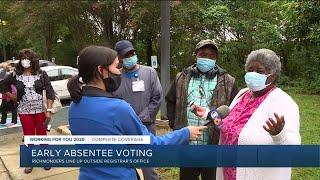 Early voting begins in Virginia