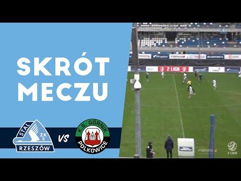 WIDEO: Stal Rzeszów - Górnik Polkowice 2-1 [SKRÓT MECZU]
