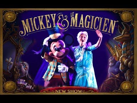 Mickey and the Magician - NEW SHOW - Walt Disney Studios - July 2016