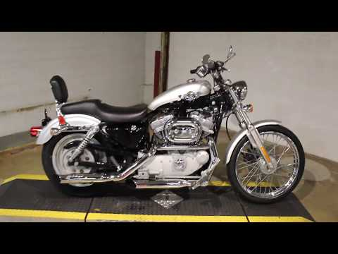 2003 Harley-Davidson XL 883C Sportster® Custom in New London, Connecticut - Video 1