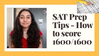 SAT Prep Tips - How to score 1600/1600