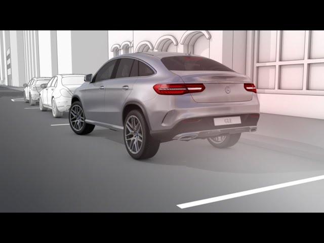 GLE Coupé: 360° camera - Mercedes-Benz original