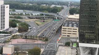 Hartford, CT i84/i91 interchange