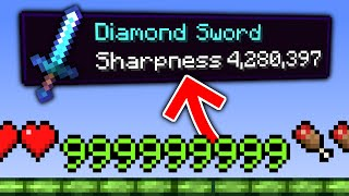 Minecraft, But Enchants Are OP...