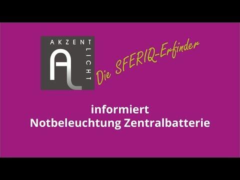 Tutorial - Notbeleuchtung Zentralbatterie