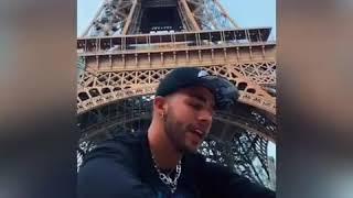 Manuel Turizo Cantando Acapella En Paris.